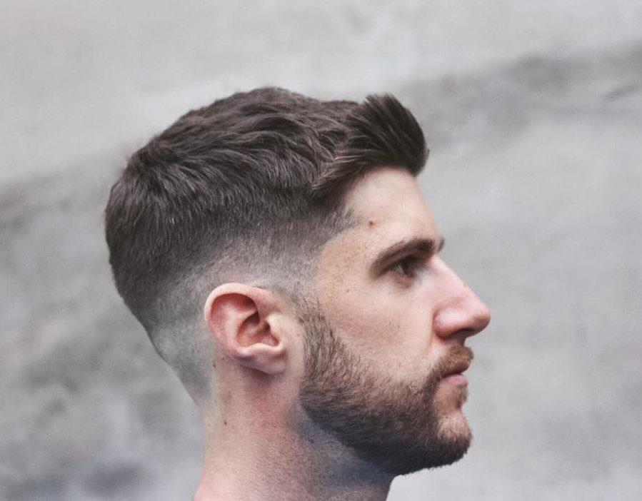 Long On Top Hairstyle With Texture