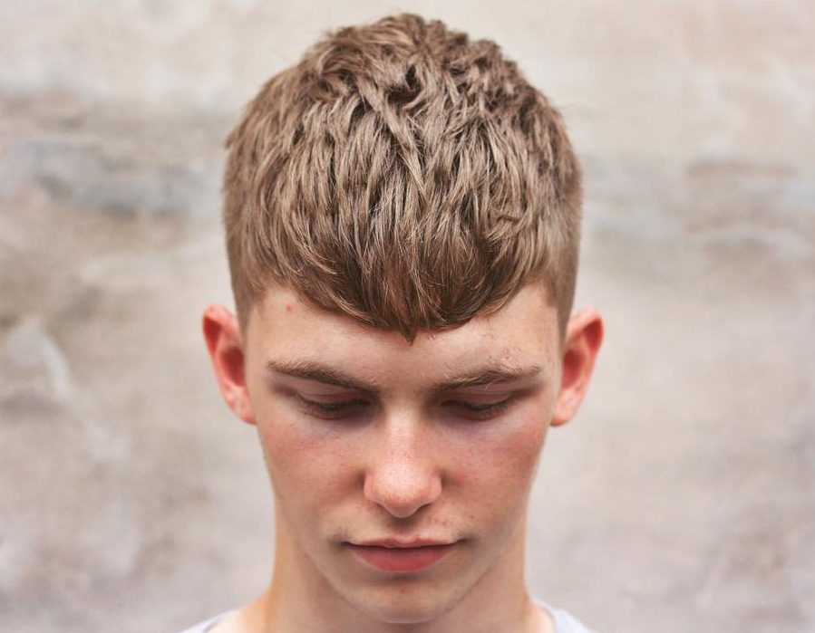 Men's short hair ideas - the textured crop