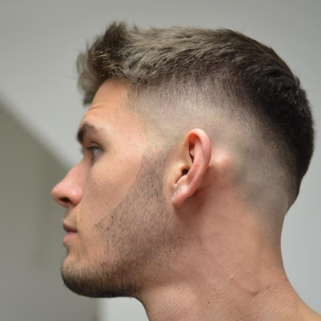 Beautiful Mid Fade Haircut