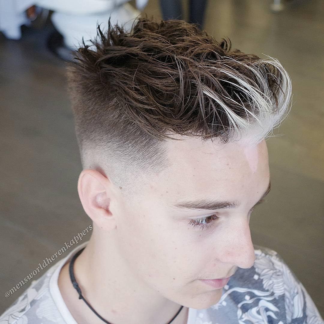 High Fade Haircuts - High taper fade haircut