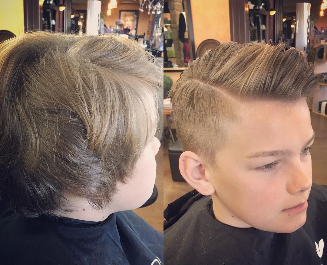 25 Cool Haircuts For Boys 2017
