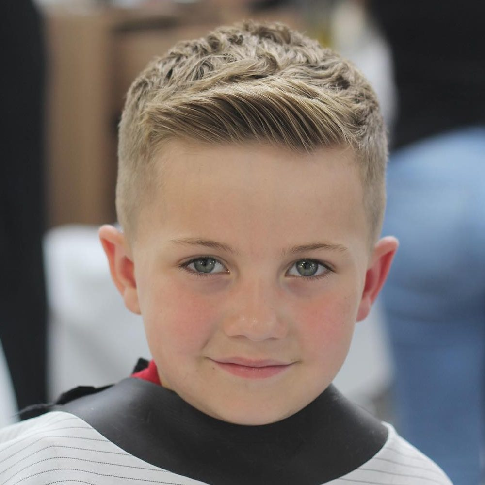 25 Cool Haircuts For Boys