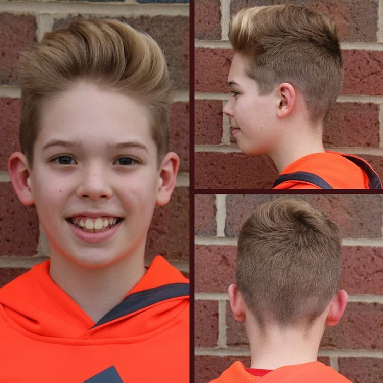 25 Cool Haircuts For Boys 2018