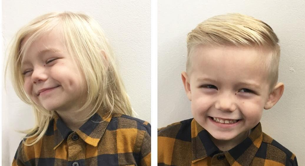 Hairstyles For Infant Boy: 25 Cool Haircuts For Boys 2017