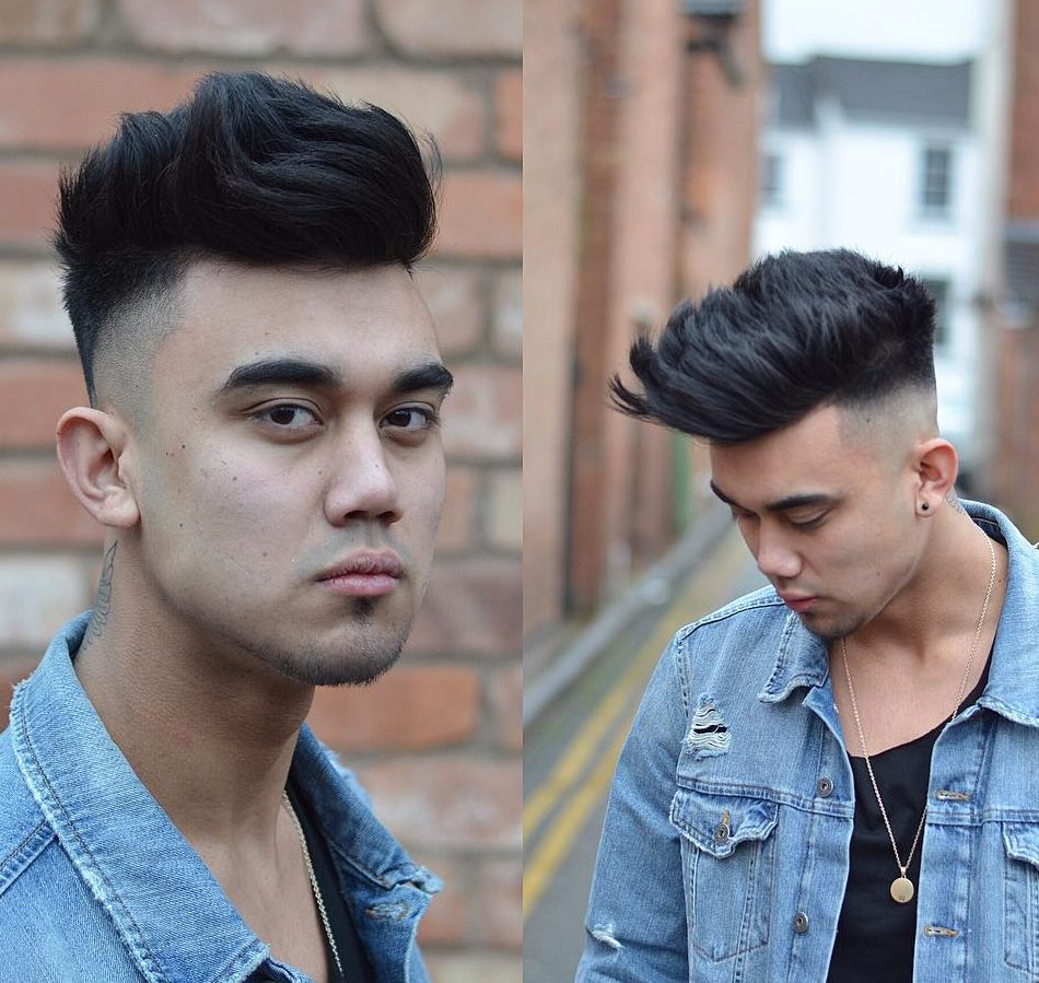 Top Haircuts For Men Guide - Asian quiff hairstyle