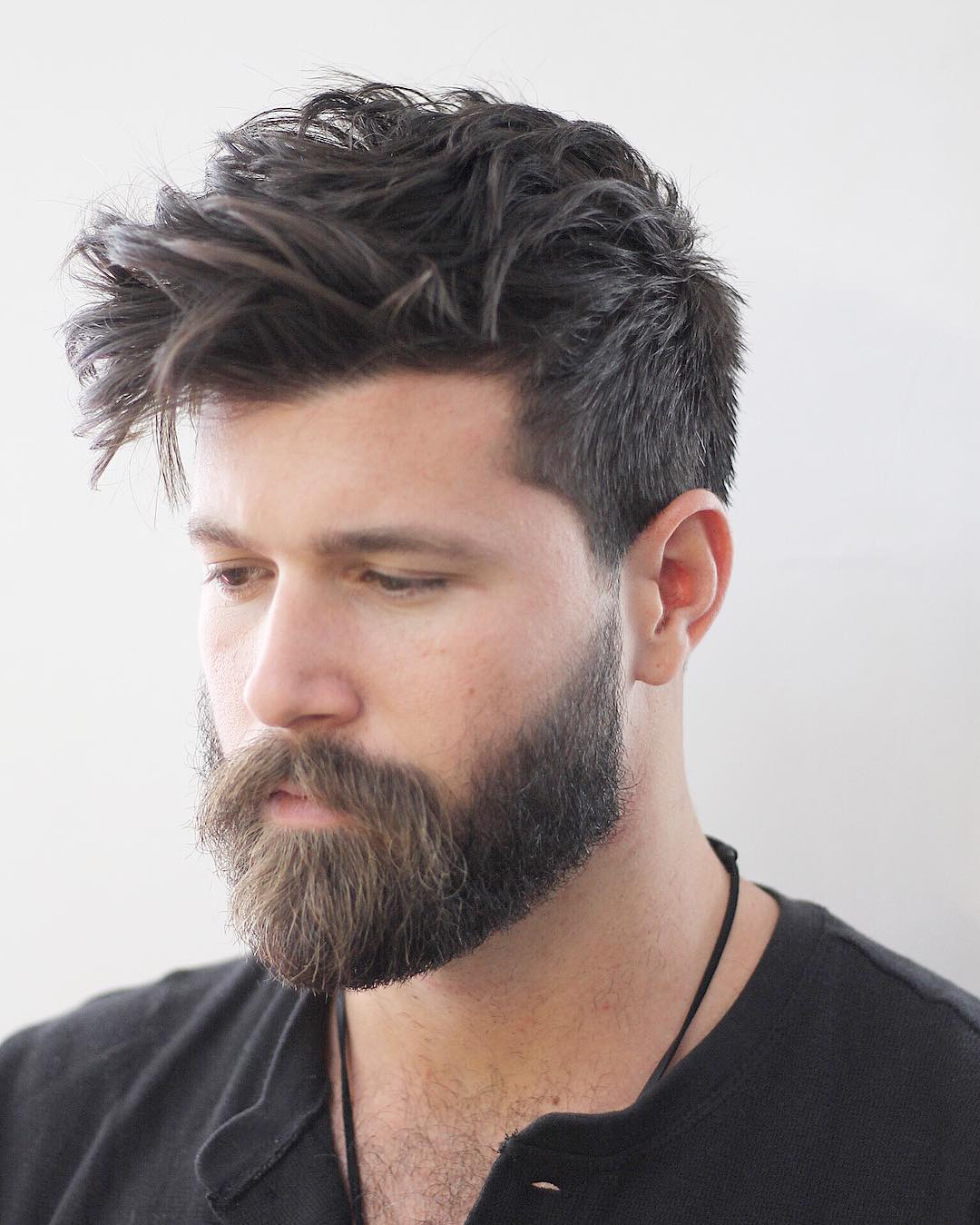Messy Hairstyle For Guys The Best Haircuts For Men 2017 Top 100 Updated
