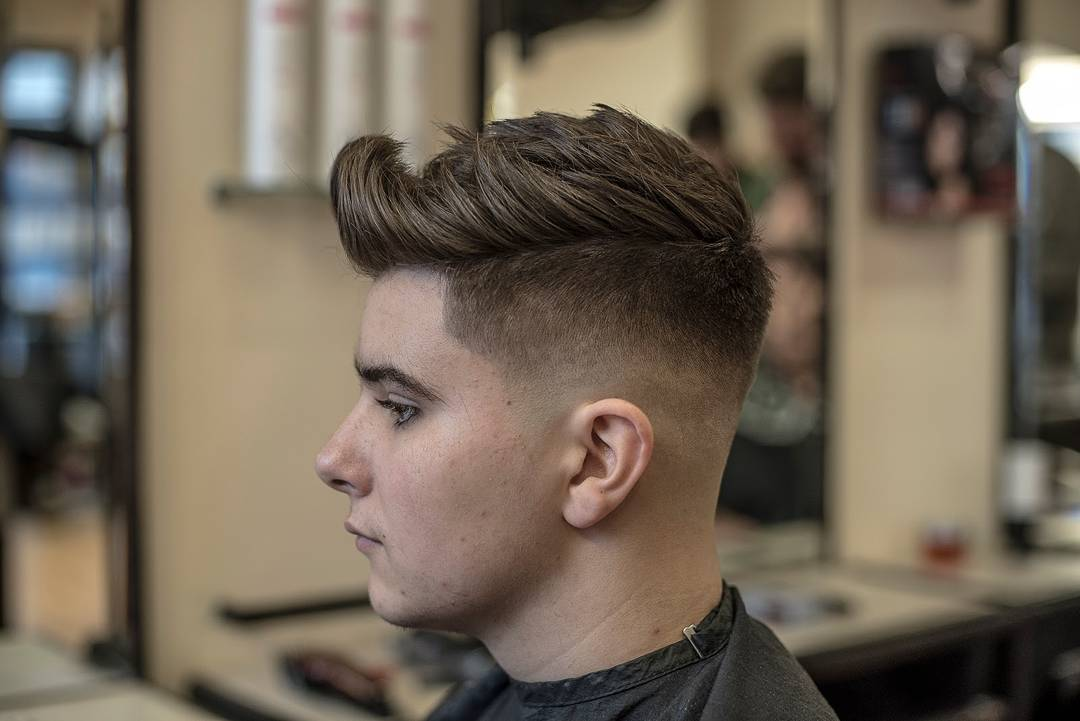 The Best Men's Haircuts To Get In 2019 - image shanecronin-undercut-fade-texture-thick-hair on https://alldesingideas.com