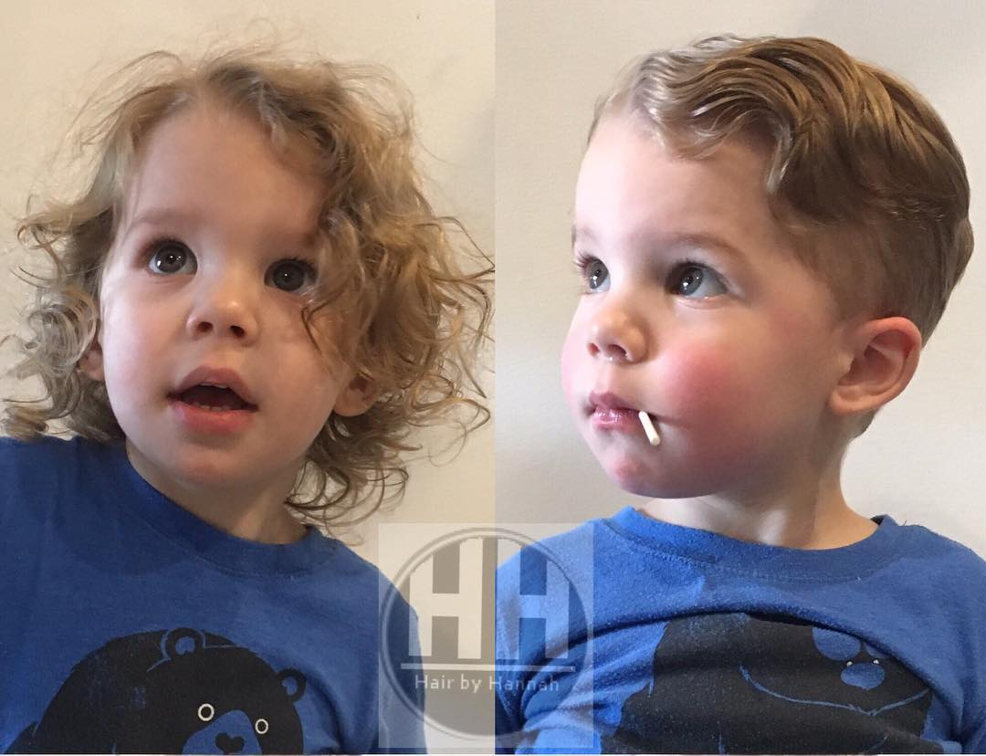 Boys Haircuts For Wavy Hair