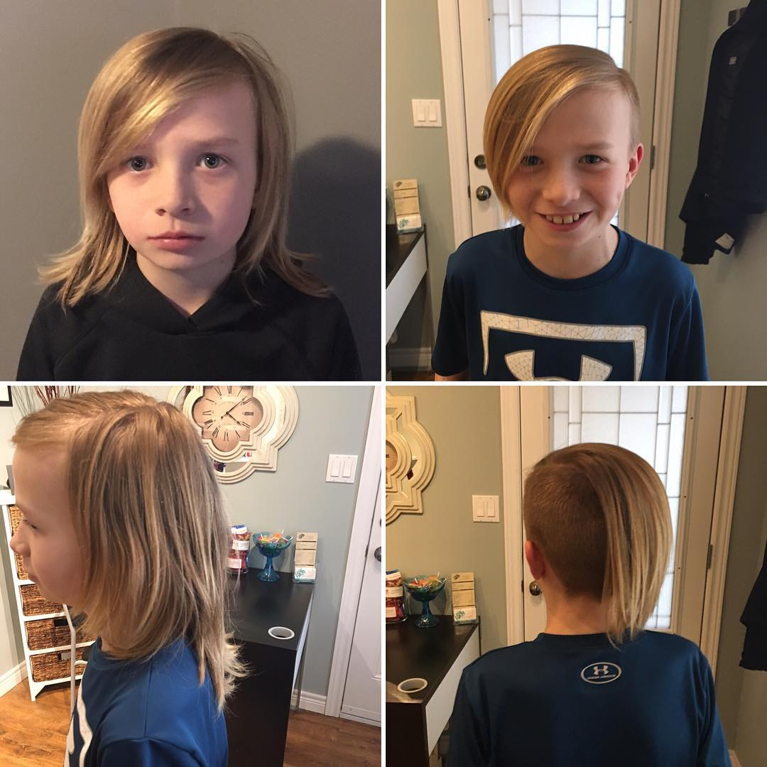 Long Hair Haircut For Boys