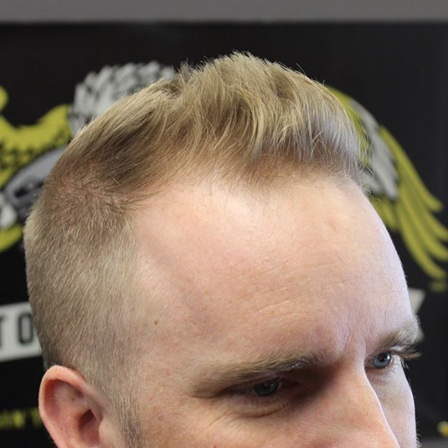 Hairstyles For Balding Men 50 classy haircuts and hairstyles for balding men 3 Short Pomp
