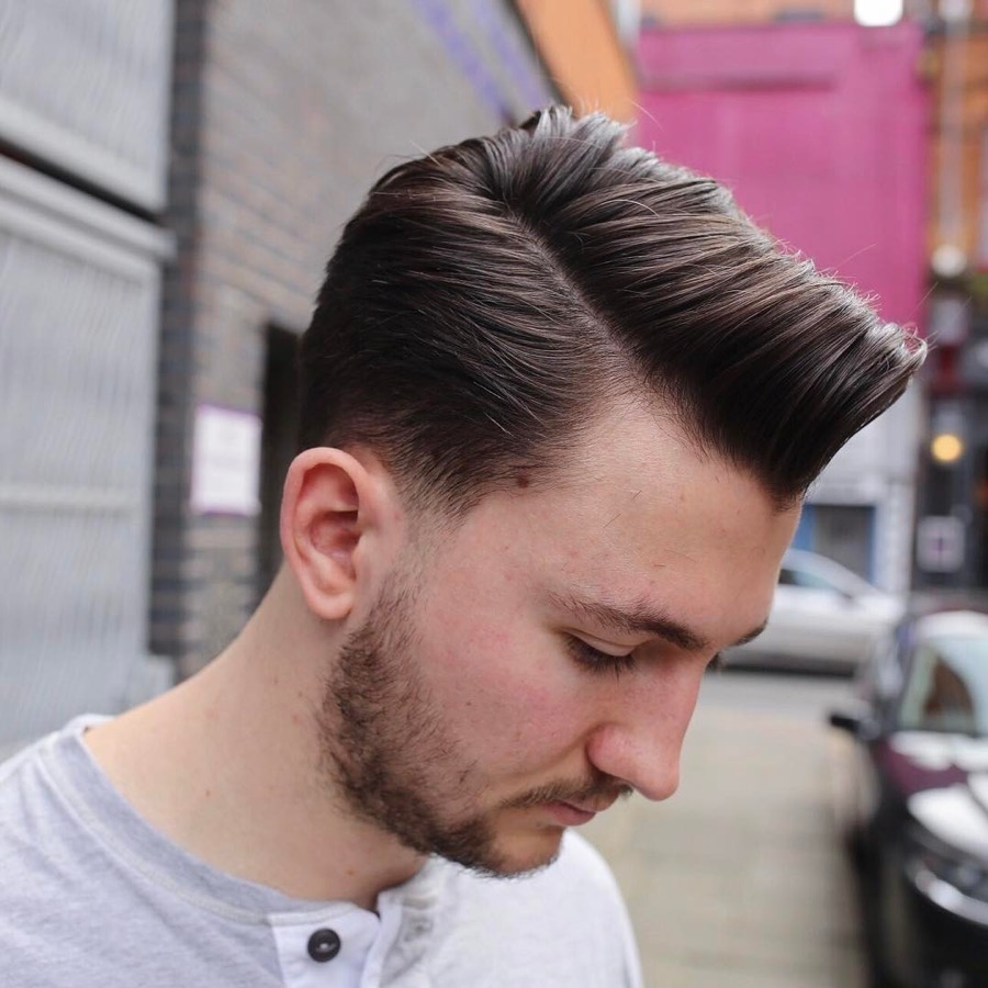 mens hair fade styles the taper haircut 4652