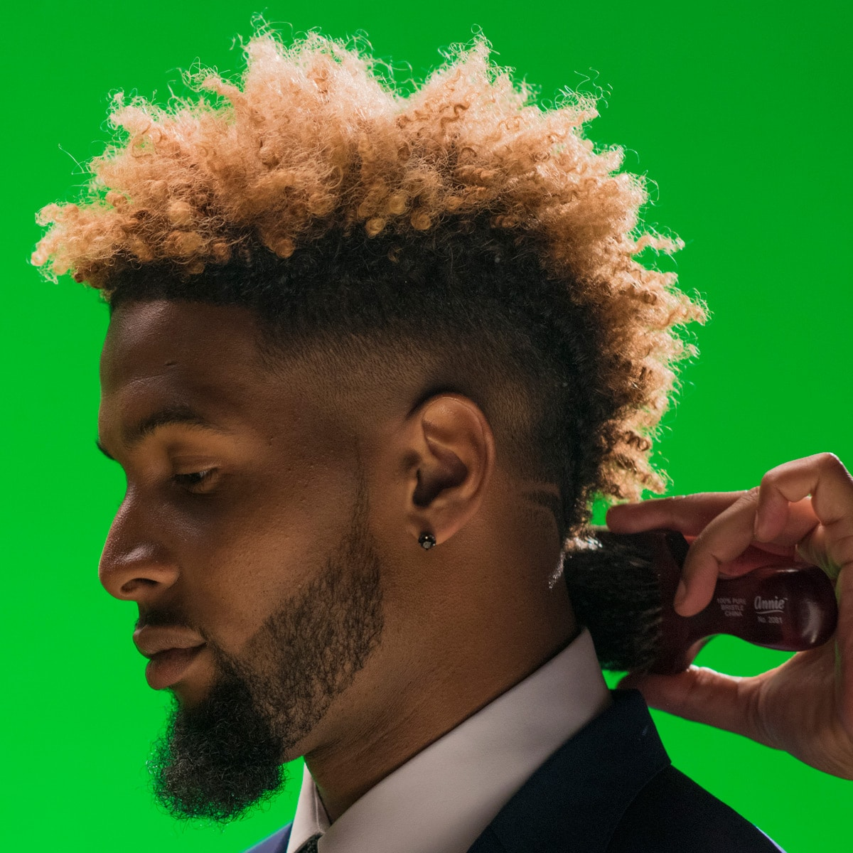 Odell Beckham Haircut