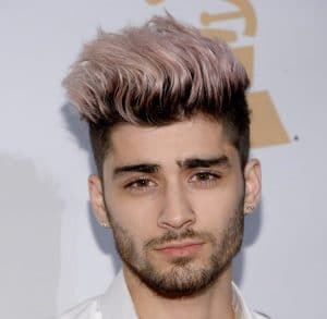 Mens Hairstyles - Zayn malik hairstyle from backside 2014