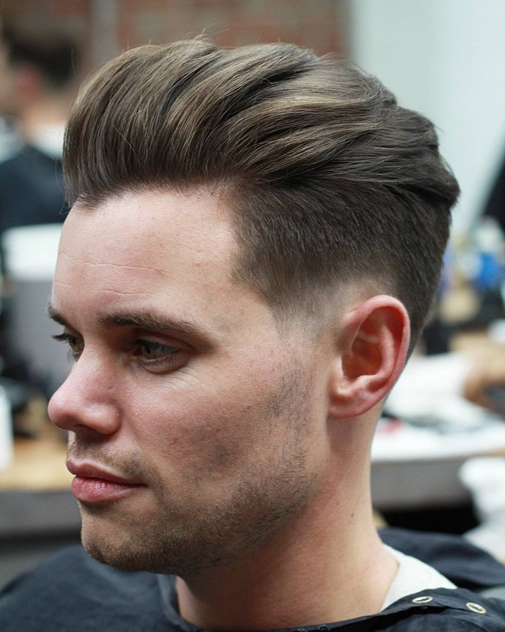 Pompadour Haircut Length : Pompadour hairstyles for men