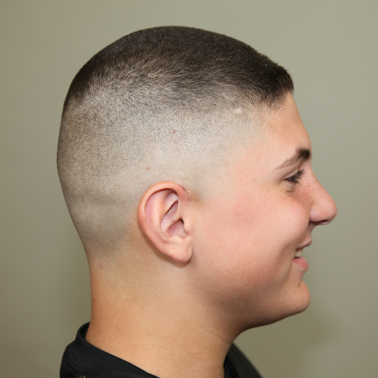 Marine high and tight haircut