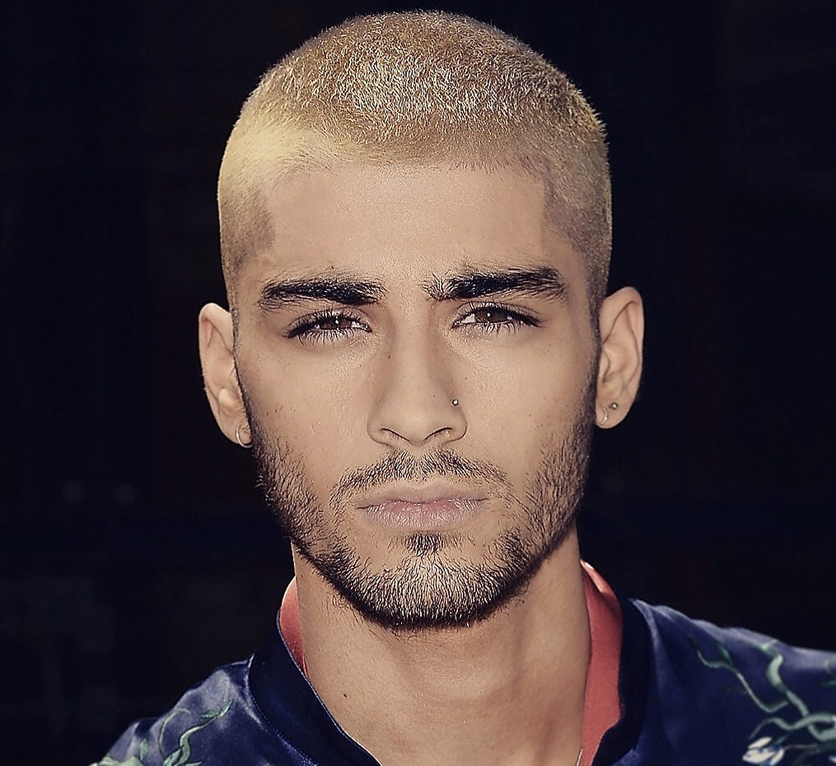 Zayn Malik Blonde Buzz Haircut