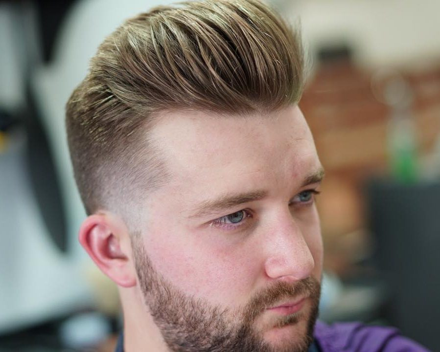 Pompadour For Fine Hair