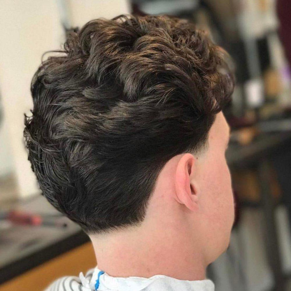 Taper haircut for men