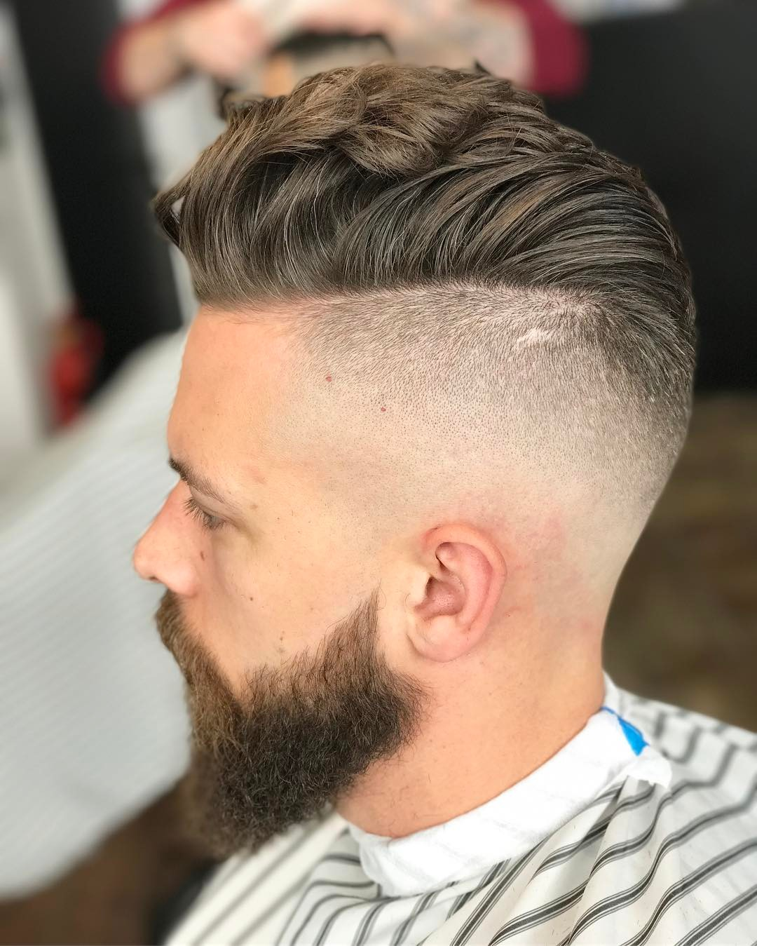 Undercut Pompadour Hairstyle For Men