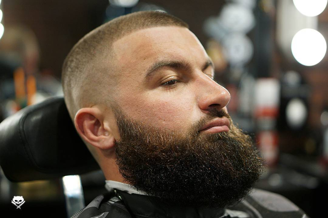 Buzz Cut Hair Styles: 2017 Beard Styles