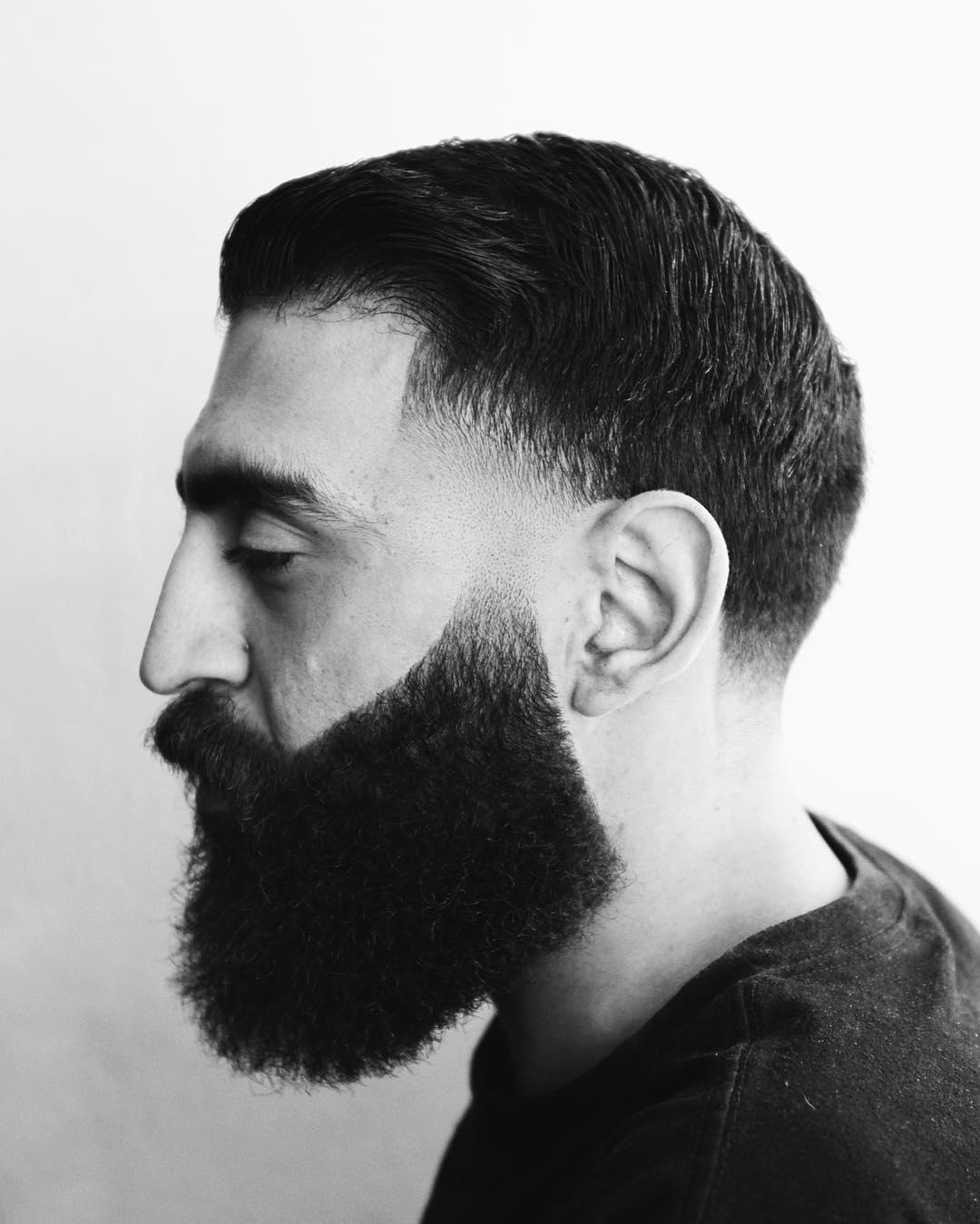 James Harden beard style