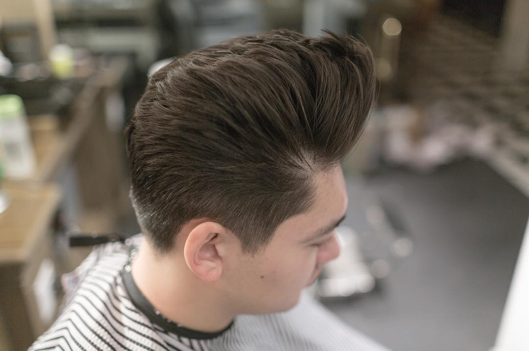 J Hairstyle: Pompadour Hairstyles For Men
