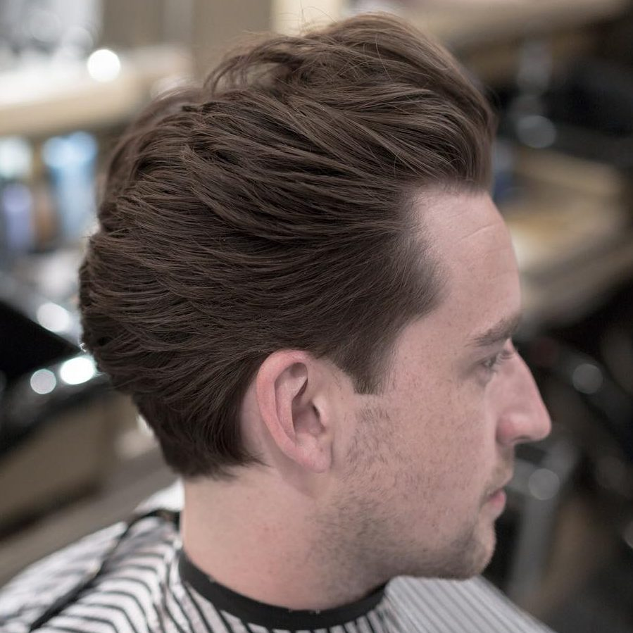 Flow Pompadour Hairstyle