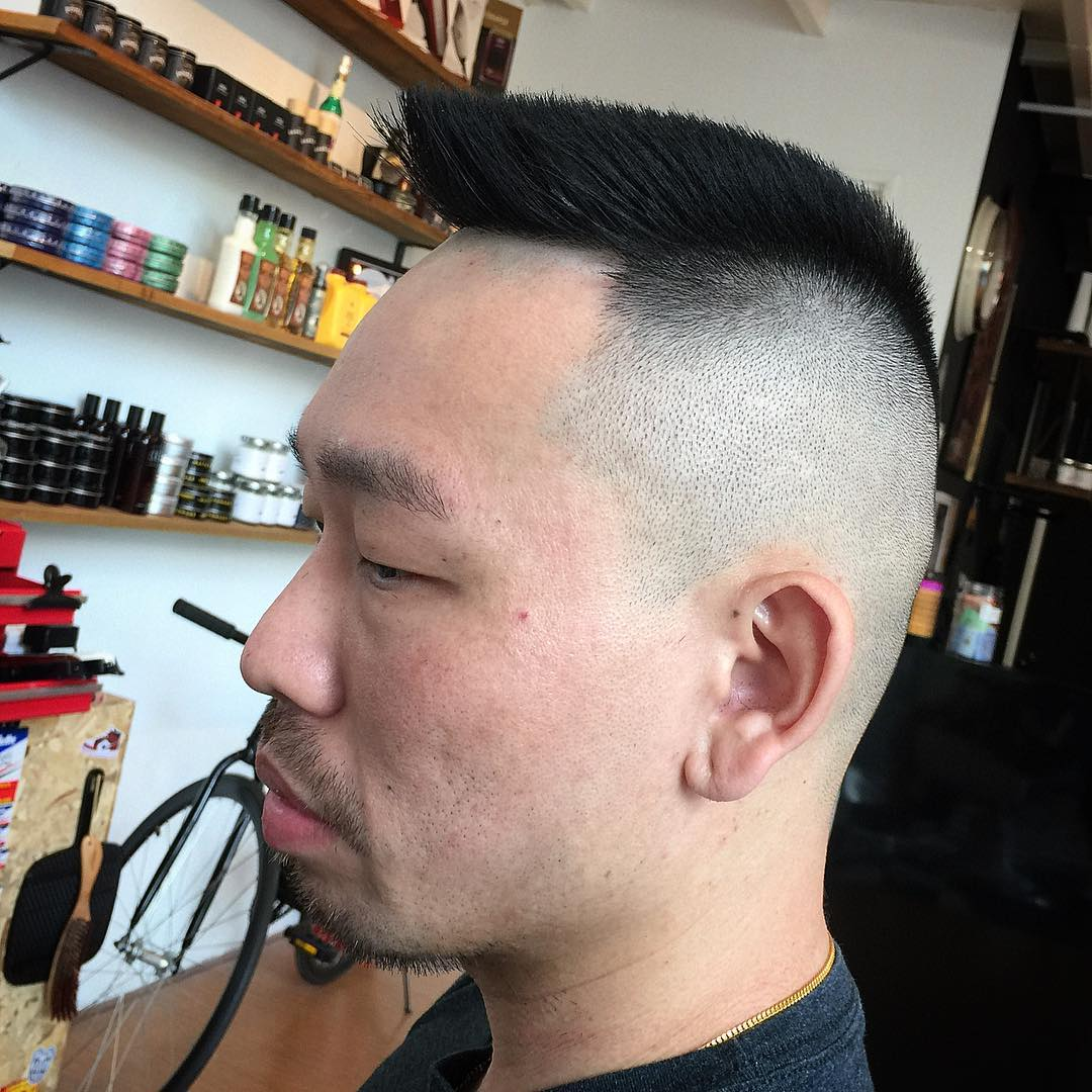 military flat top haircut