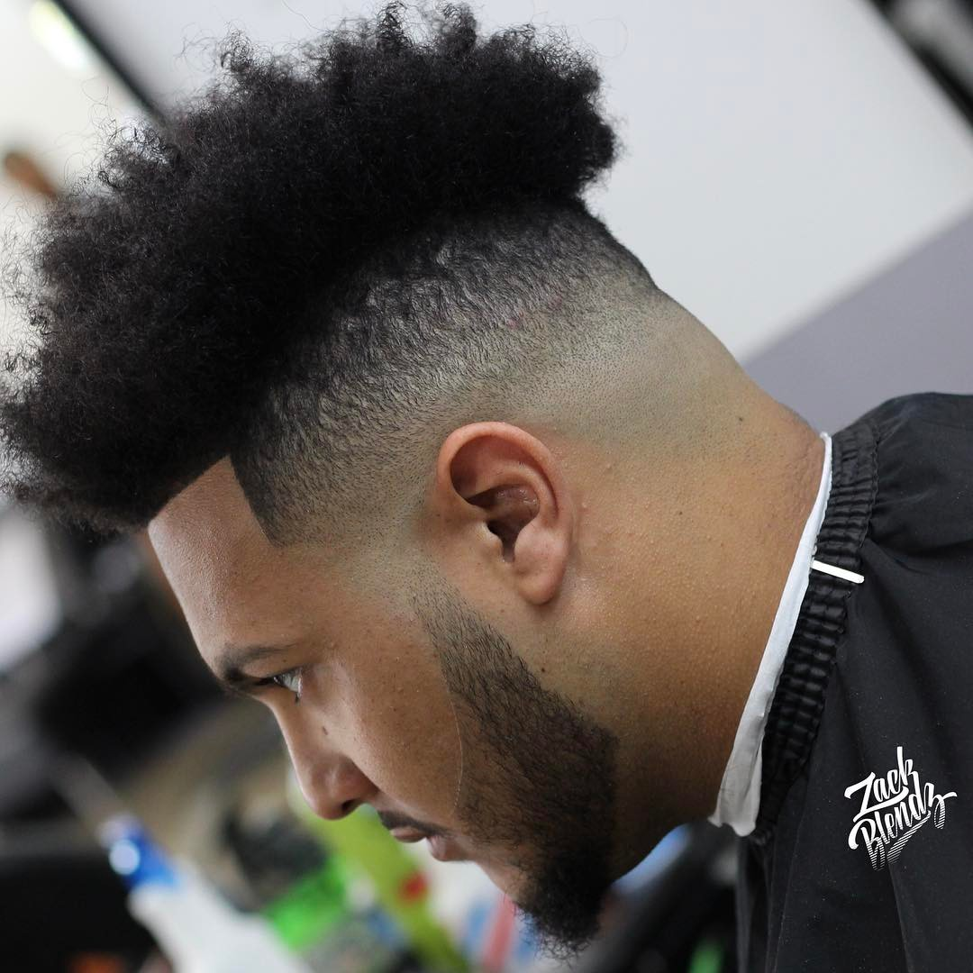 High Top Fade Hairstyles Fade Haircut