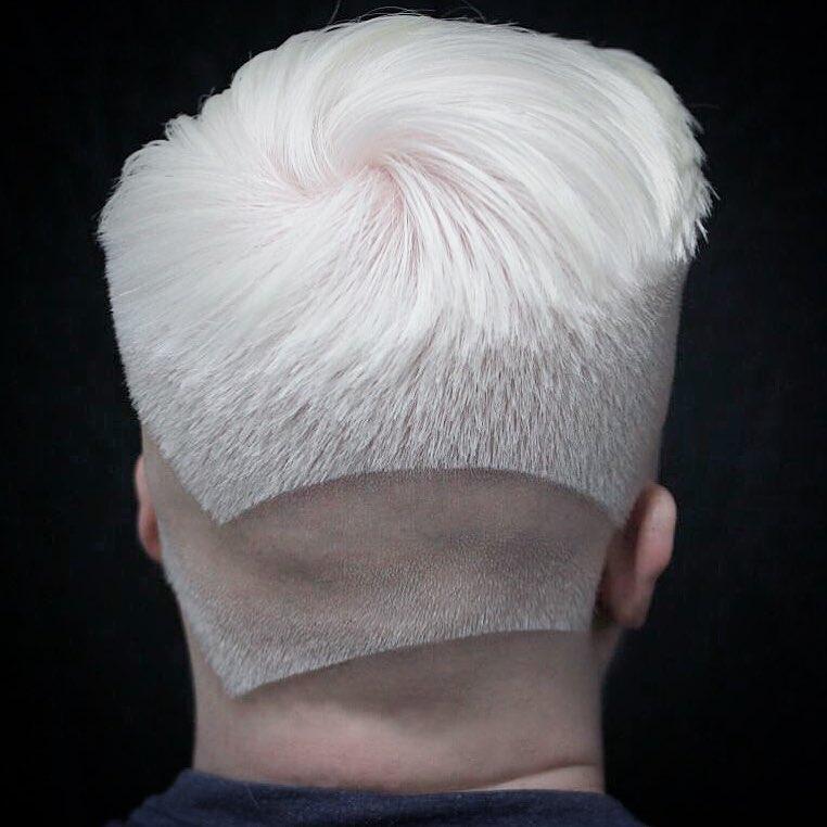 New Men S Hair Trends Neckline Hair Design