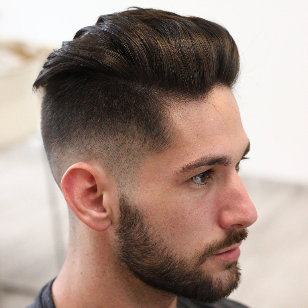 Undercut Short Men Fade