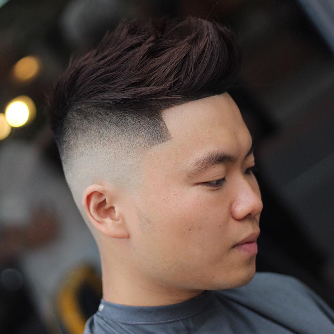 Short Faux Hawk Asian Best Short Hair Styles