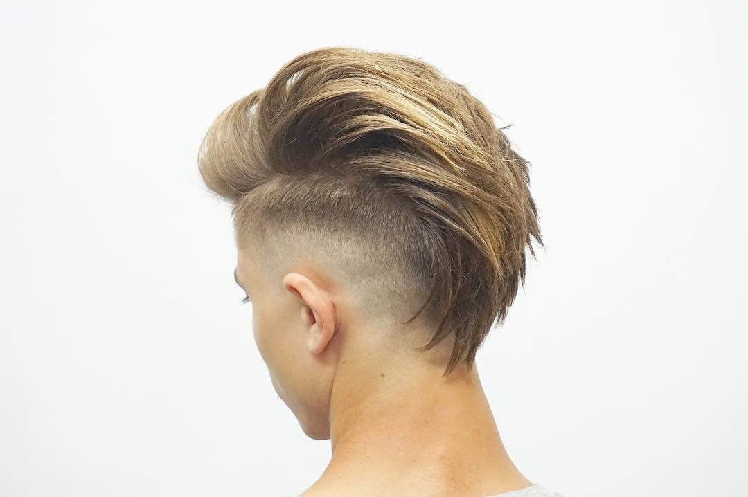 Hair Style For Guys: Undercut Fade
