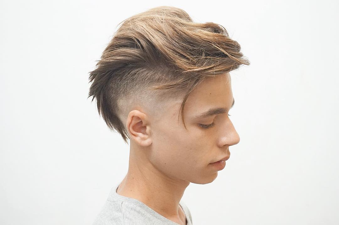 Z Cut Hairstyle: Undercut Fade