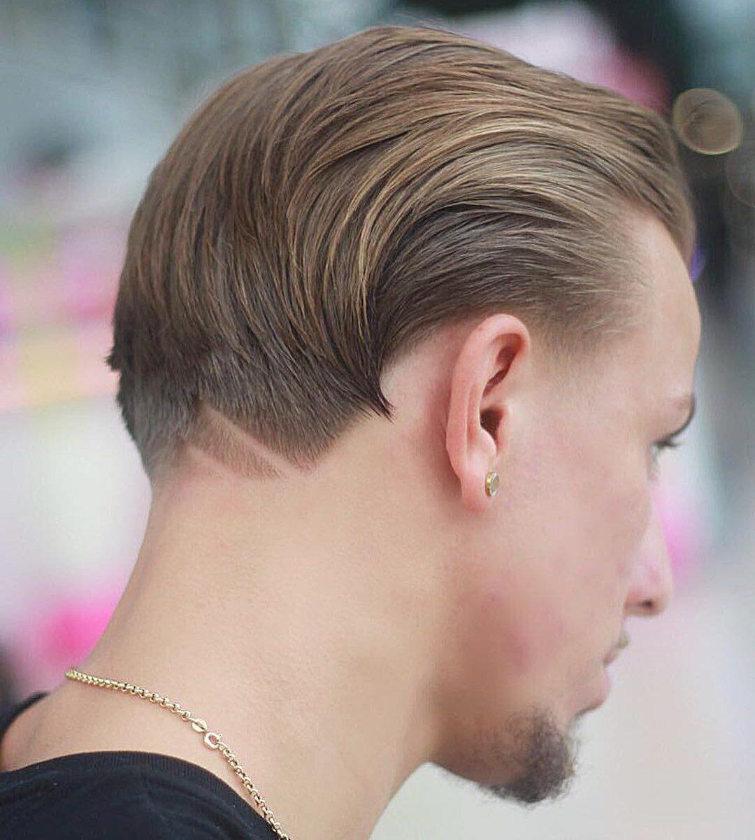 new hairstyles for men neckline hair design