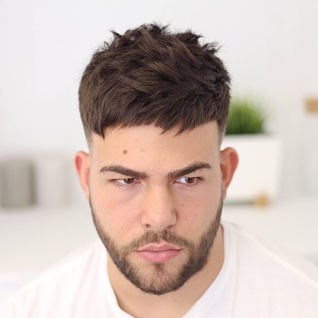 agusdeasis short textured crop haircut for men
