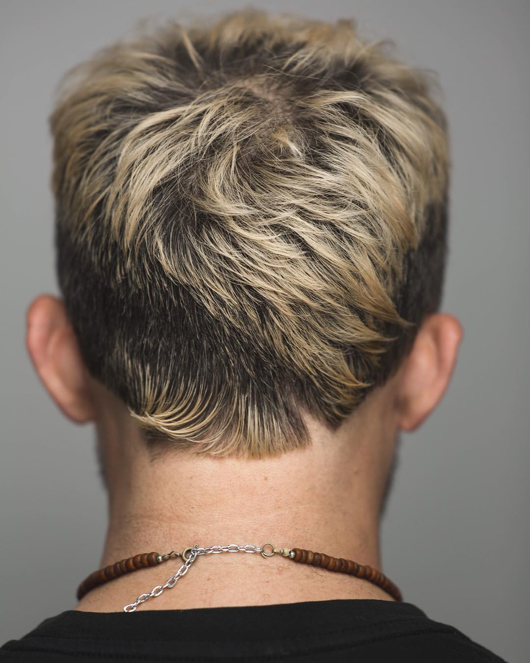 andrewdoeshair mens textured haircut back side view