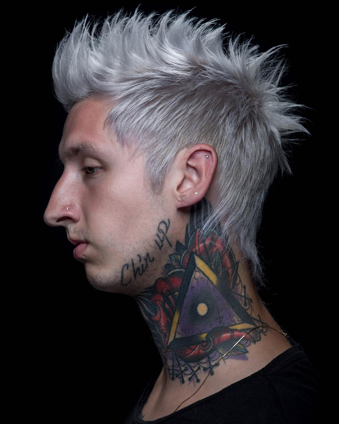 andrewdoeshair spiky rocker haircut for men