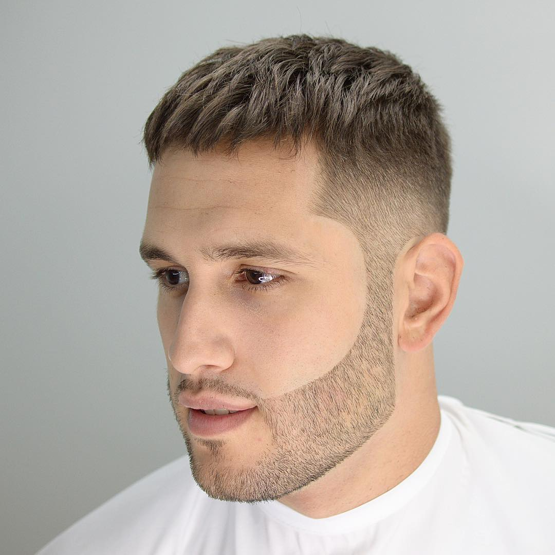 Trimmed Hairstyles For Men for round face