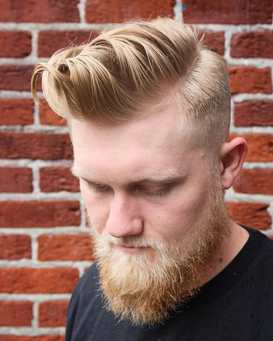barbermikethomas long fringe high fade mens haircut
