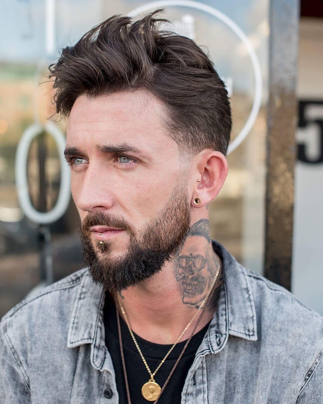conortaaffehair medium haircut for men
