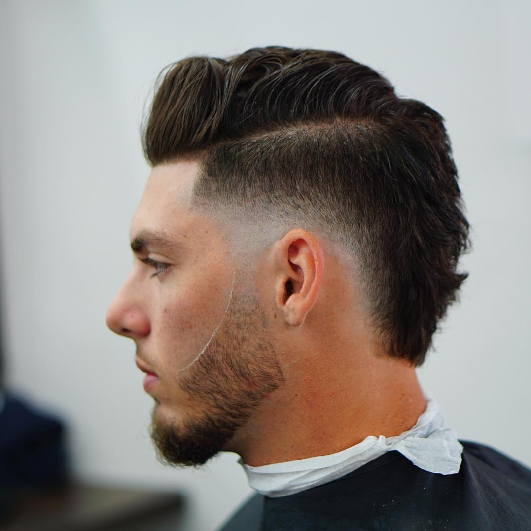 criztofferson mohawk haircut for men