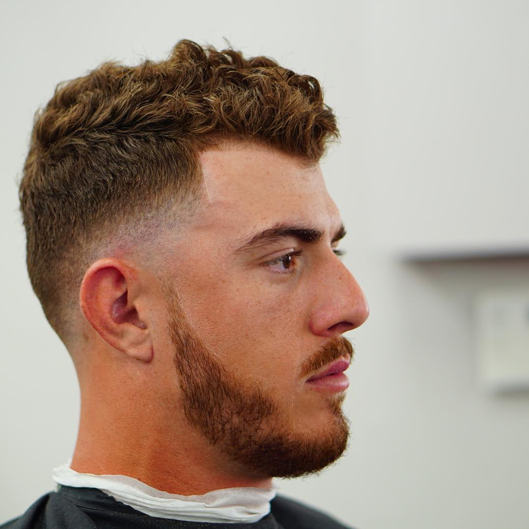 criztofferson thick haircut for men