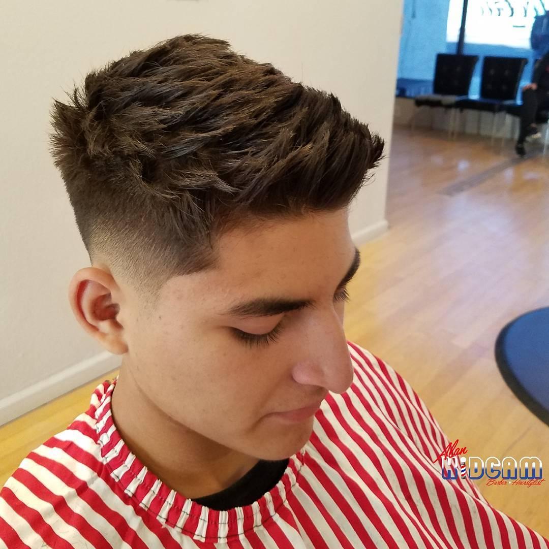 Spiky Haircut For Thick Hair