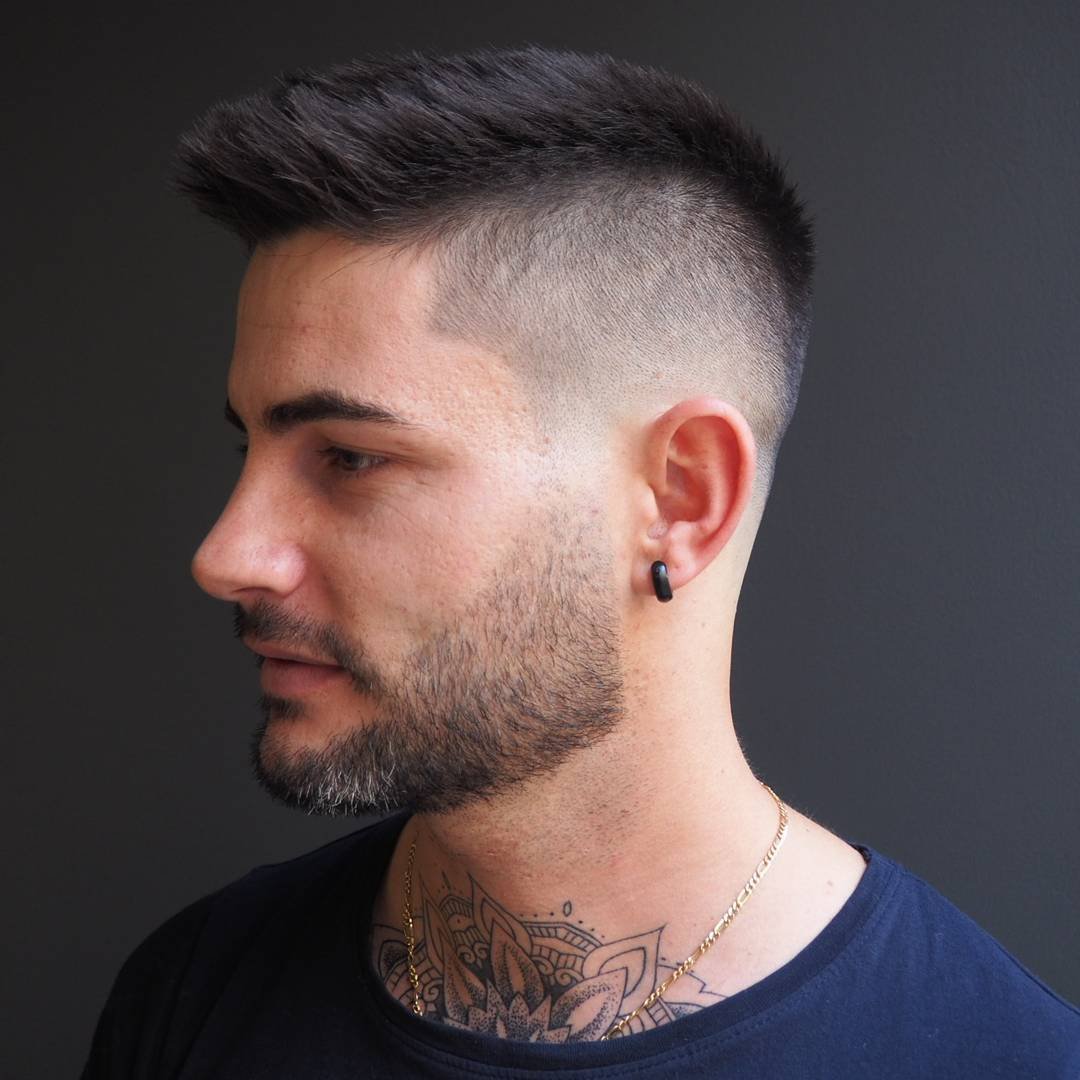 short hair haircuts for guys 25 hairstyles for best of list 2793 | ivanshavethesailor short haircuts for men spiky hair fade