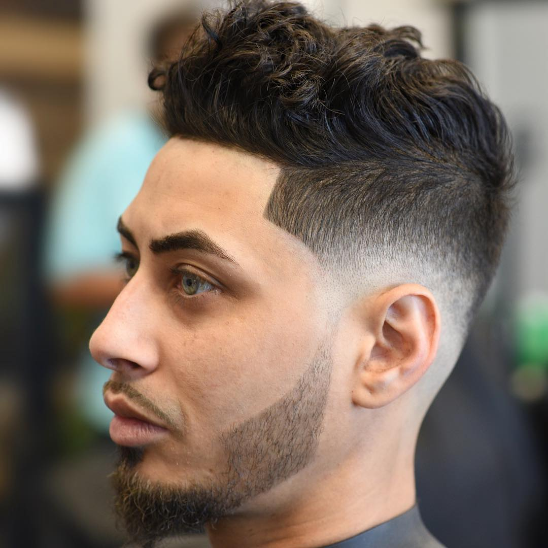 jose.crespo_ wavy hairstyle for men mid fade haircut
