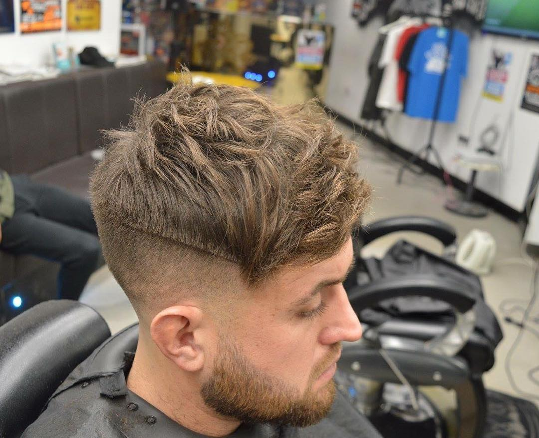 little_jay28 messy textured mens haircut