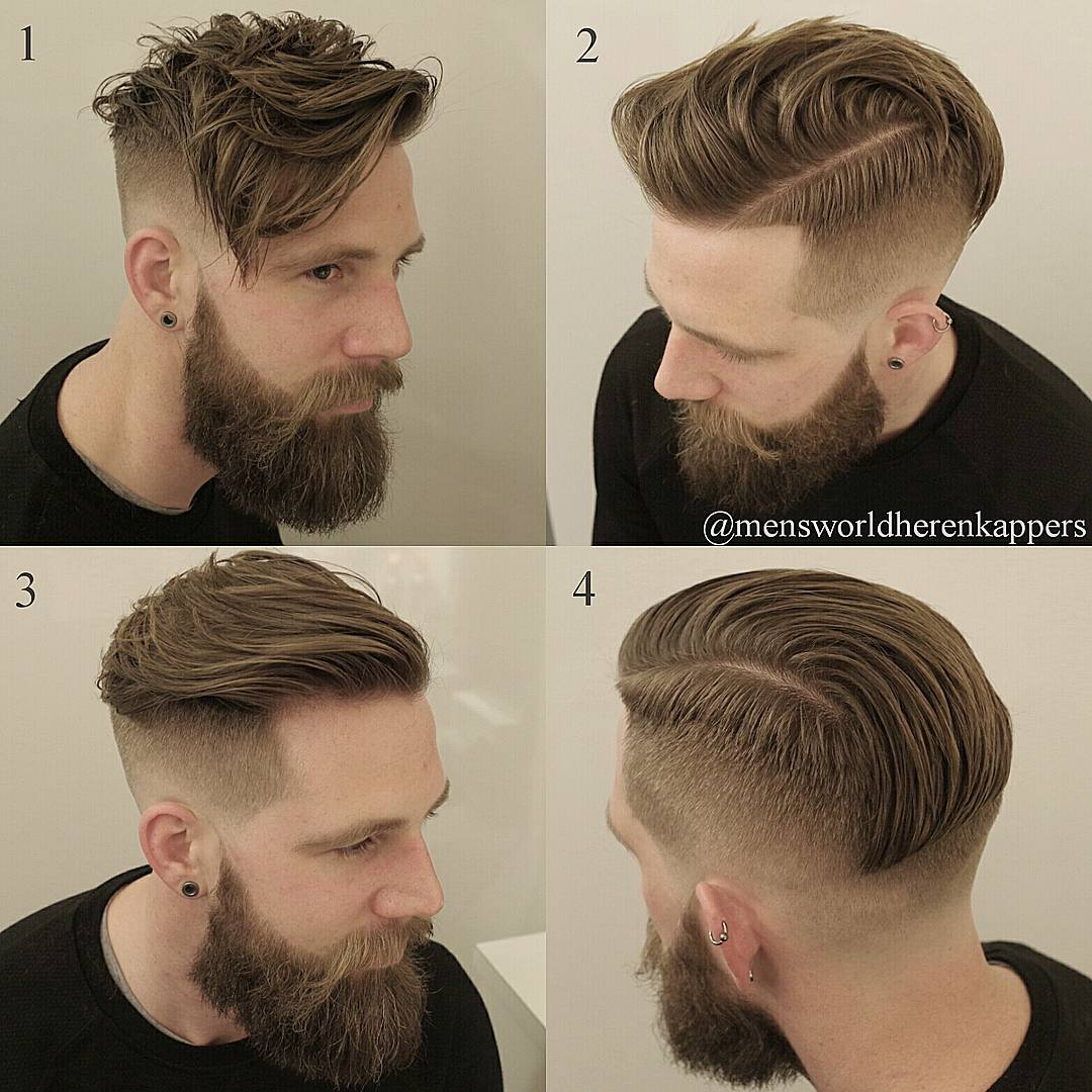 mensworldherenkappers straight vs messy mens haircut long fringe undercut