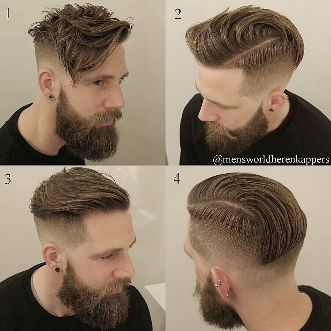 mensworldherenkappers straight vs messy mens haircut long fringe undercut