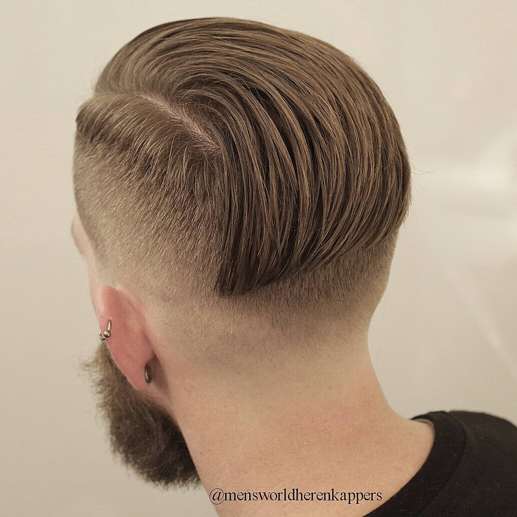 mensworldherenkappers straightened undercut hairstyle